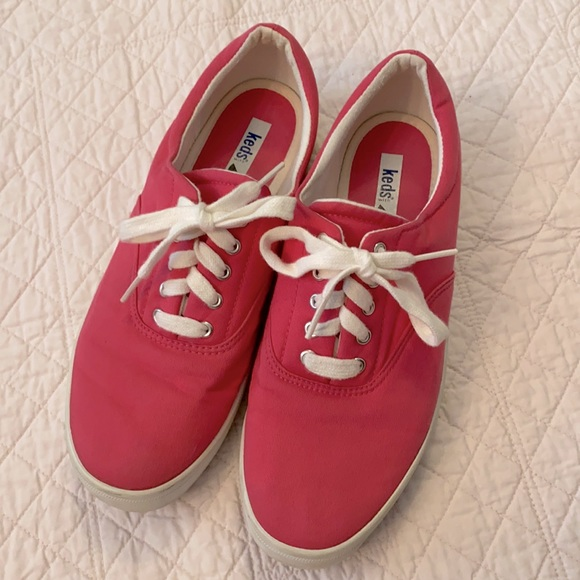 Keds Rare Vintage Canvas Lycra Thick Sole Sneakers
